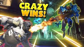Overwatch - Greatest Crazy Wins!