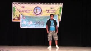 Pranav Bramhadevara dances fro Magajaathi song for Talent Show at Spoorthi 4th Anniversary