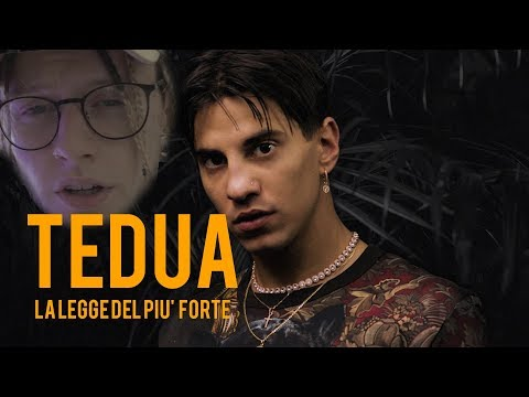 Tedua - La Legge Del Più Forte | REACTION | DAMNED