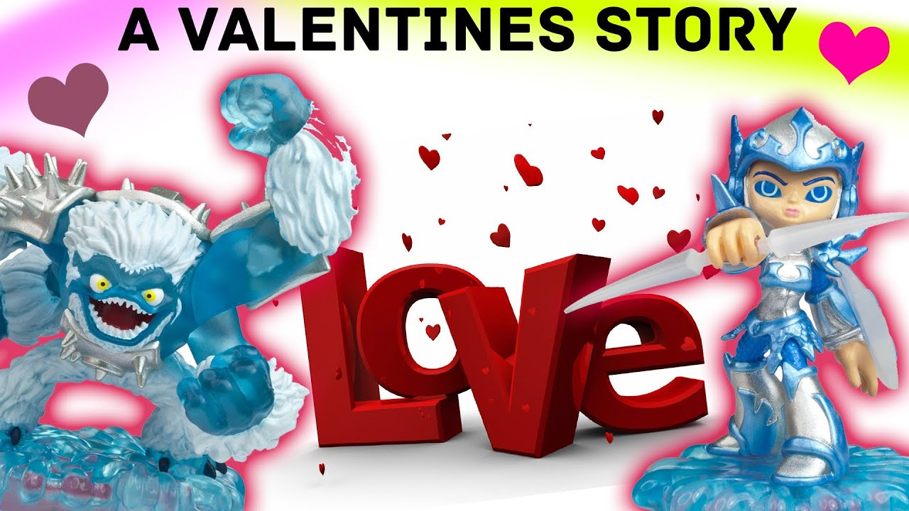 Skylanders Valentines: A Love Story w/ Slam Bam & Chill (a Great Wolf Lodge  Date) - YouTube