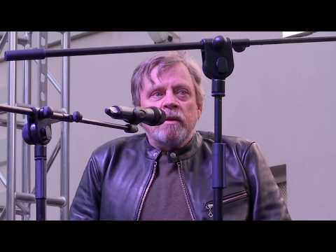 Mark Hamill in Gibraltar with Boogie Storm - 20.03.18