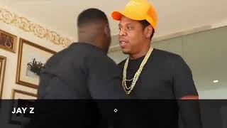 Casanova 2X at Roc Nation Offices With Jay Z