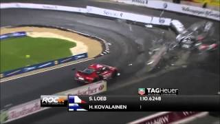 Race of champions crash compilation