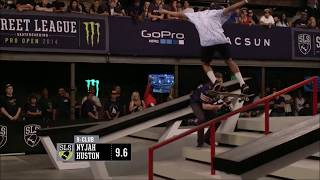 ★NYJAH HUSTON || TOP 5 HIGHEST SCORES EVER IN SLS★ 2017 HD