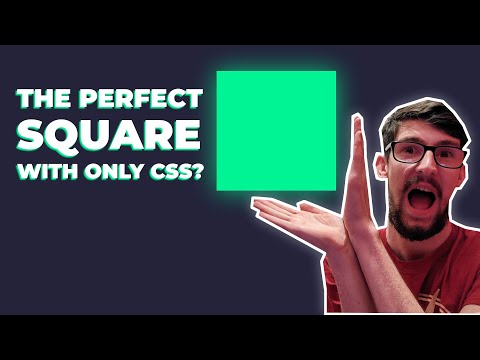 How To Code A Responsive Square In CSS Only (Responsive Aspect Ratio)