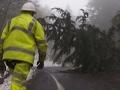 Storm, landslide block Oregon, Washington roads