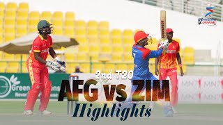 Afghanistan vs Zimbabwe Highlights | 2nd T20 | Afghanistan vs Zimbabwe in UAE 2021