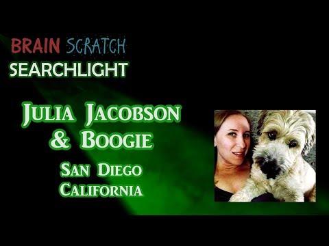 Julia Jacobson & Boogie on BrainScratch Searchlight