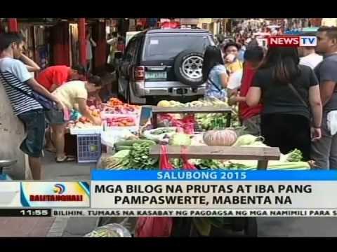 Bt: Mga Bilog Na Prutas At Iba Pang Pampaswerte, Mabenta Na