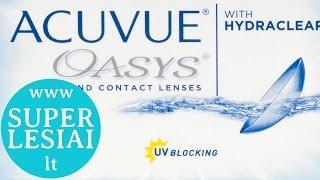 Acuvue Oasys lęšiai akims - www.SuperLesiai.lt(Acuvue Oasys lęšiai akims iš www.SuperLesiai.lt. Kontaktinius lęšius akims pristatome visoje Lietuvoje per 1-2 darbo dienas., 2015-06-21T17:16:46.000Z)