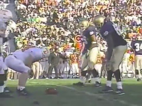 2001 # 7 Tennessee vs Notre Dame
