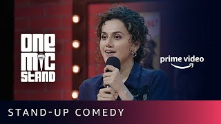 Angad Singh Ranyal mentors Taapsee Pannu | One Mic Stand | Amazon Prime Video