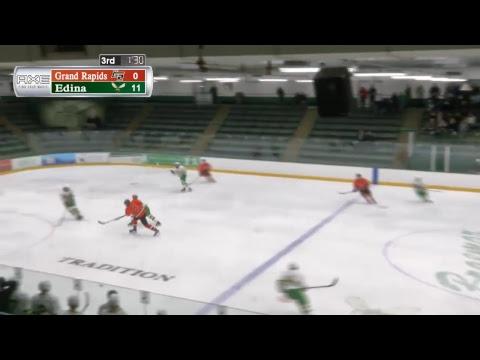 High School Hockey: Grand Rapids at Edina