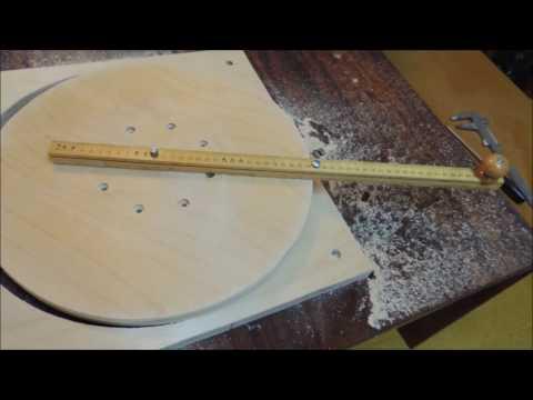 Как вырезать круги из фанеры