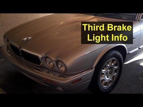 Jaguar third brake light bulb replacement and mounting information – Auto Repair Series