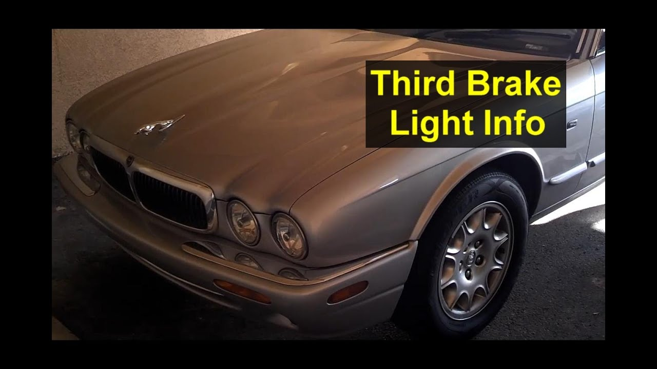 Jaguar Third Brake Light Bulb Replacement And Mounting
