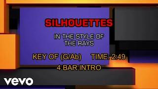 The Rays - Silhouettes (Karaoke)