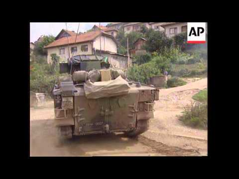 BOSNIA: NATO AIRSTRIKES AGAINST BOSNIAN SERBS UPDATE