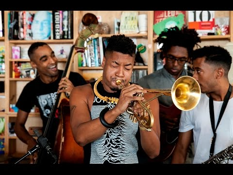 Christian Scott aTunde Adjuah: NPR Music Tiny Desk Concert