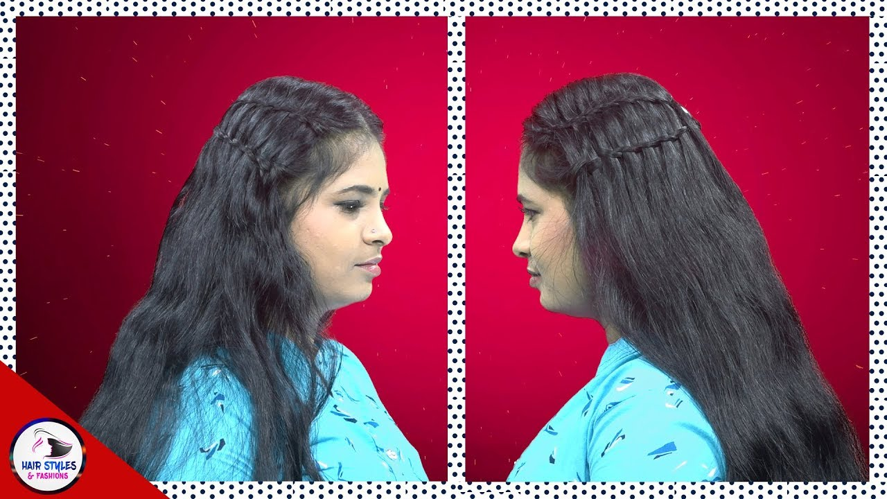 New looking Beautiful Hair style for Women | Bridal Hair Style | Hair Styles & Fashions