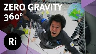 Zero Gravity In 360 - A Trip On A Parabolic Flight