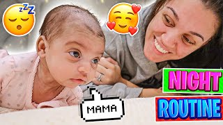 AYLA'S NIGHT ROUTINE **NEWBORN BABY**