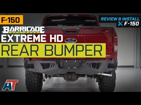 2015-2018 F150 Barricade Extreme HD Rear Bumper for Factory Hitches Review & Install