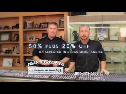 Billy Mitchell Jewelry Anniversary Sale
