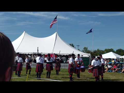 2017 Capital District Scottish Games - Rhode Island Highlanders