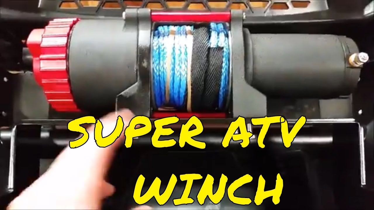 medium resolution of superatv winch install on the polaris ranger part 1
