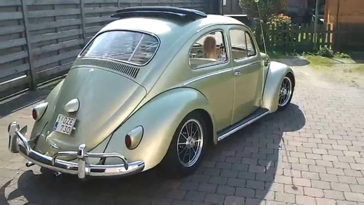 1958 Vw Beetle Ragtop Youtube