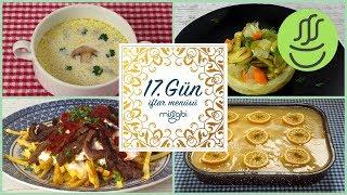 Ramazan 17. Gün İftar Menüsü: Çökertme Kebabı - Mantar Çorbası - İç Baklalı Enginar - Soğuk Tatlı