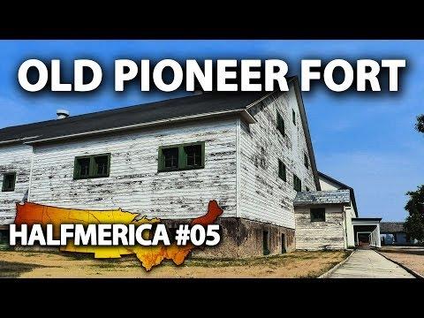 North Dakota's FORT TOTTEN -- #Halfmerica