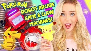 Game | POKEMON ROBOT ARCADE GAME CLAW MACHINE WINS Neofuns Arcade! | POKEMON ROBOT ARCADE GAME CLAW MACHINE WINS Neofuns Arcade!