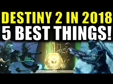 The 5 BEST Things to Happen in 2018 for Destiny 2! thumbnail