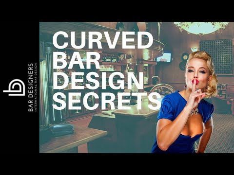 The Secrets to Designing a Curved Bar Like an Expert