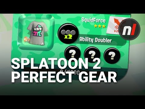 How to Get Perfect Gear in Splatoon 2 on Switch | Splatoon 2 Ability Chunk  Guide