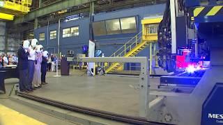 Columbia-Class Submarine Program First-Cut-of-Steel Ceremony