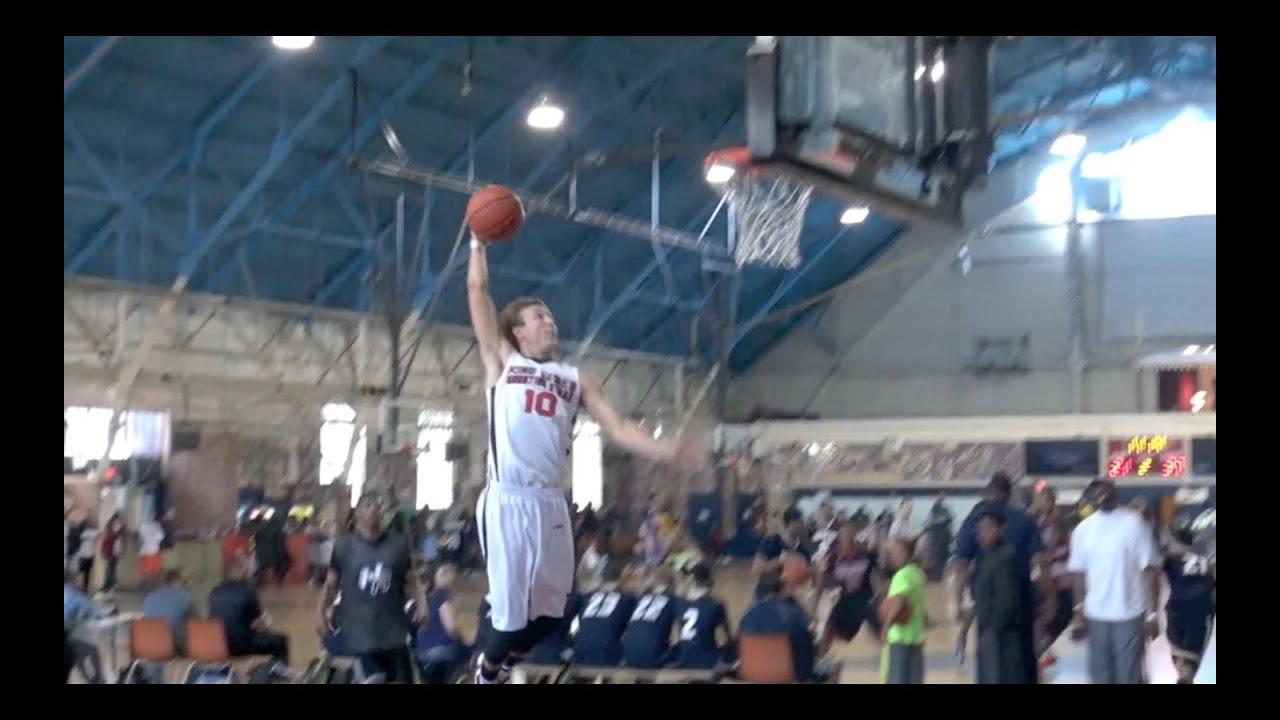 Duke commit Luke Kennard with a dunk at ...