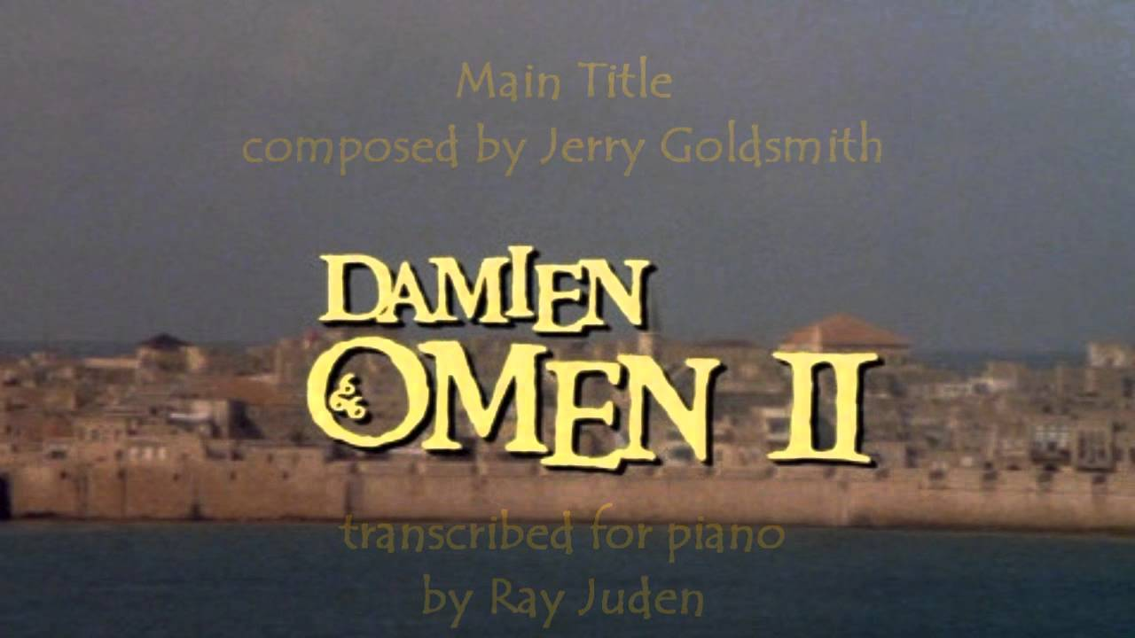 Damien omen ii piano transcription youtube for Sign of portent 3