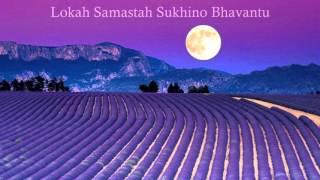 Mantra Bringing Inner Peace Lokah Samastah Sukhino Bhavantu