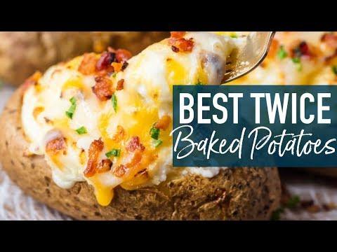 BEST Twice Baked Potatoes Recipe