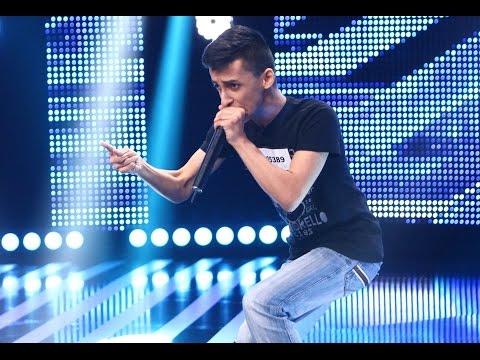 Beatbox de excepție la X Factor! Vezi interpretarea lui Florin Drăgoi