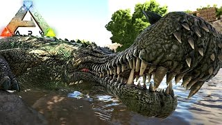 Download Video ARK Survival Evolved - Ataque De Sarcosuchus, Grande Caçada!   Dinossauros (#3) (PT-BR) MP3 3GP MP4