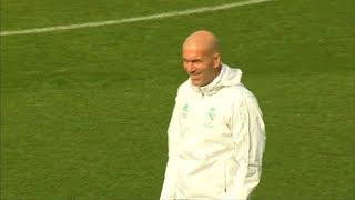 Zidane admitió el desgaste que produce estar en el Real Madrid