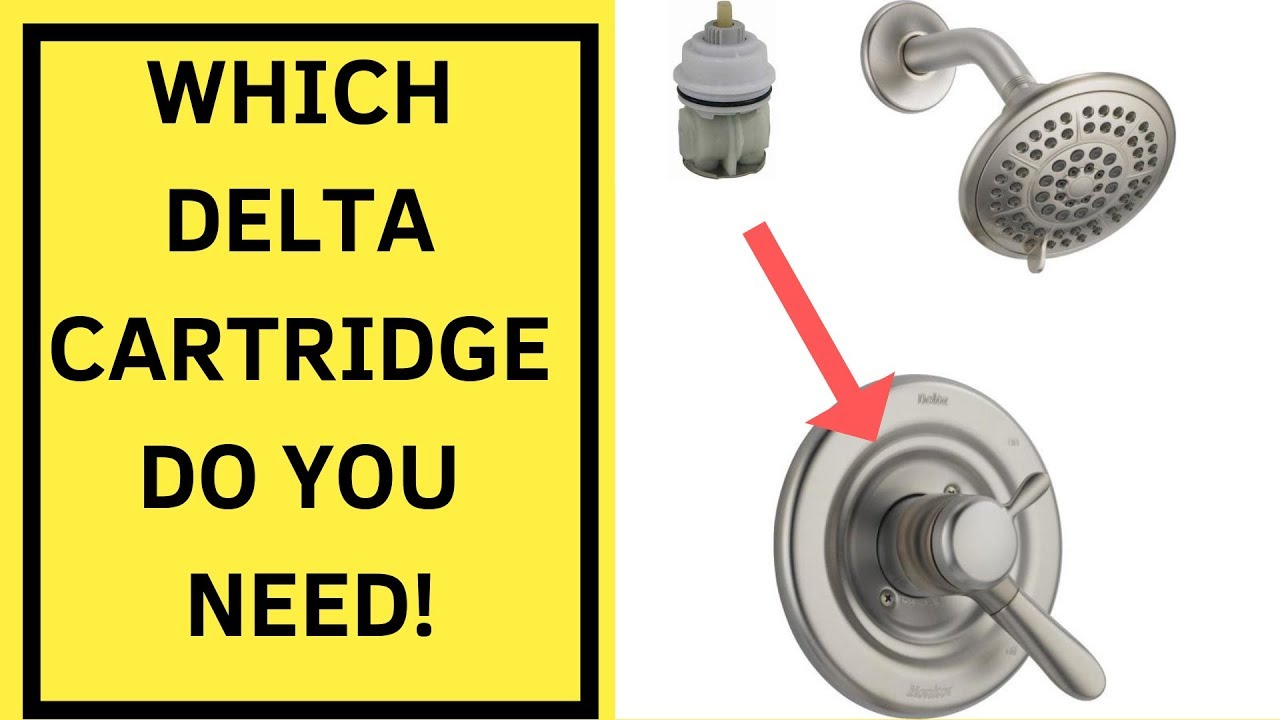 which delta cartridge do you have how to replace a delta cartridge