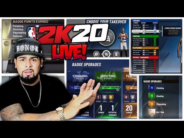 NBA 2K20 LIVE FIRST IMPRESSIONS W XCHASEMONEY, TRAY & KEN! ( NBA 2K20 MAJOR L OR W?)