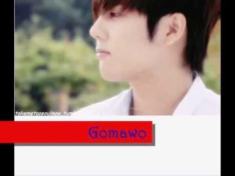 Kim Kyu Jong - Thank you (Gomawo) legendado - PT-BR