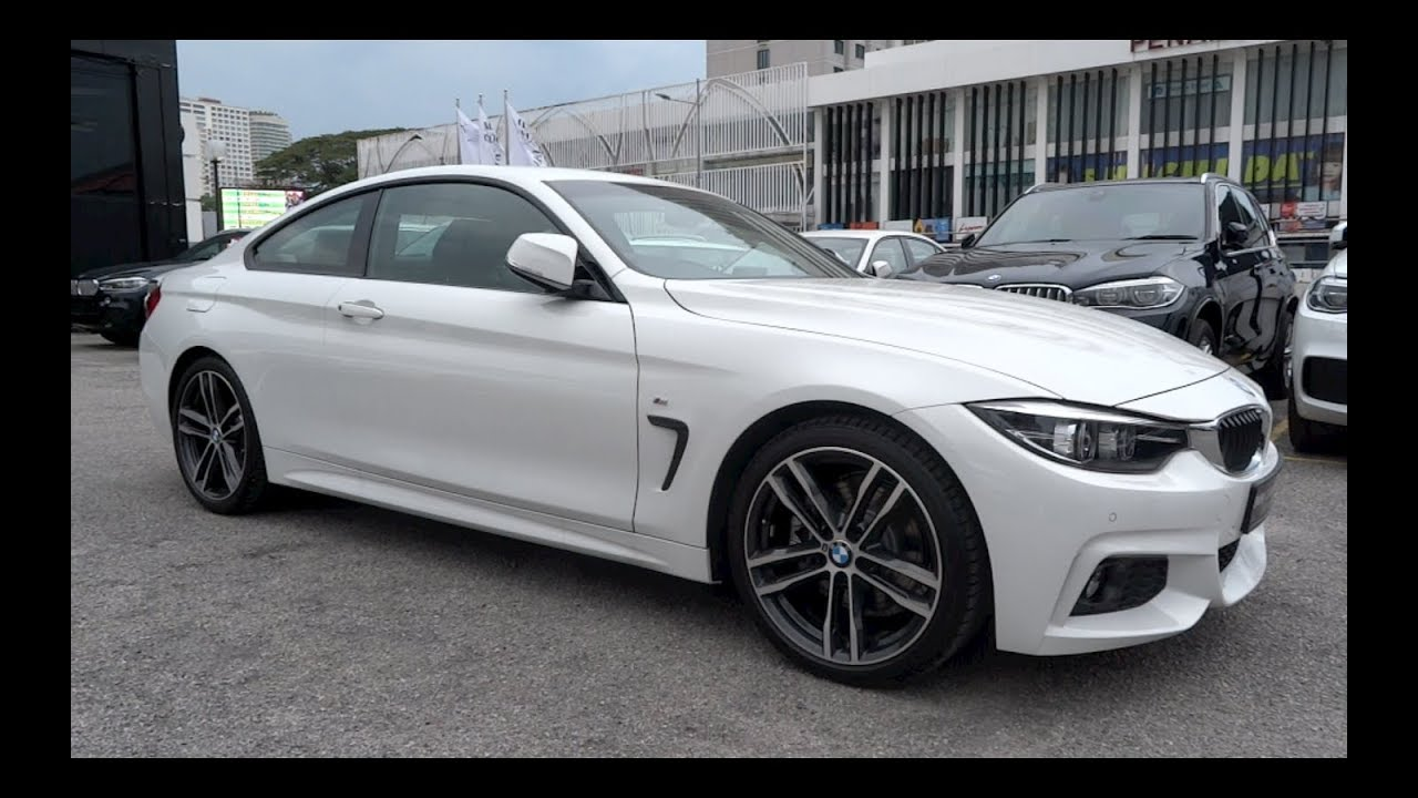 2017 Bmw 430i Coupe M Sport Start Up And Full Vehicle Tour Youtube