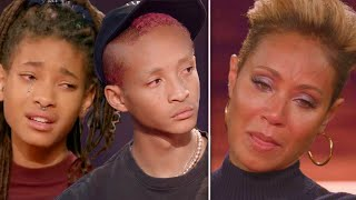 Jaden & Willow Smith Confront Mom Jada Pinkett Smith On Red Table Talk